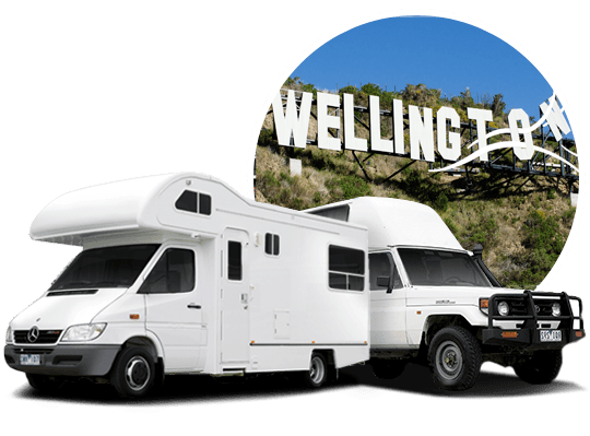 location camping-car Wellington, NZ